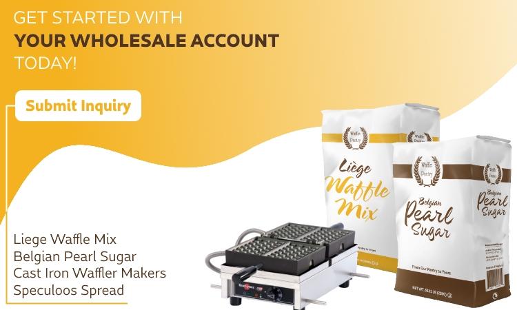 Liege Waffle Dough Wholesale