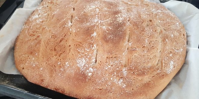 Crusty T55 Flour French Bread Loaf
