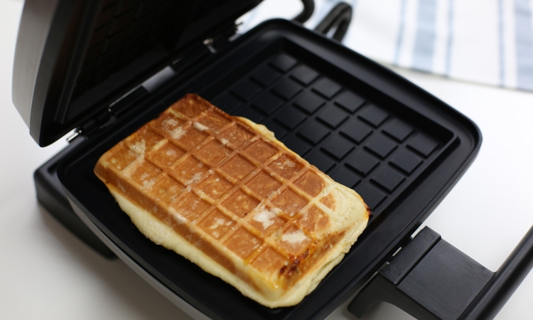 baked calzone liege waffle