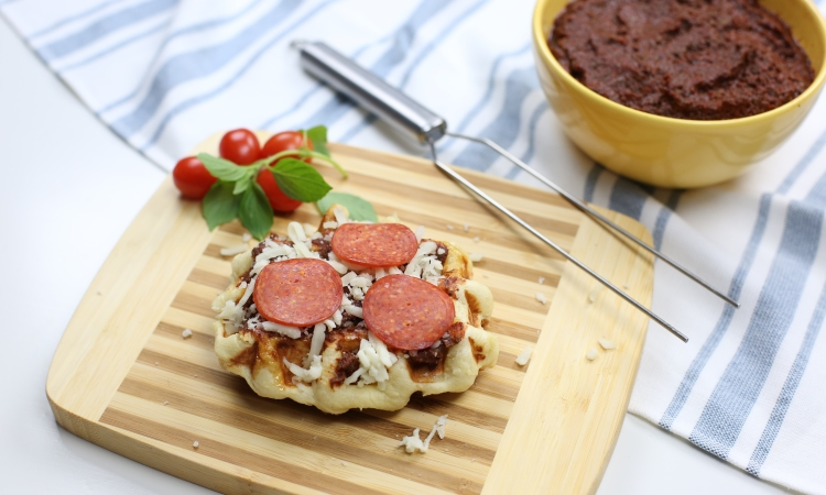 pizza liege waffle toppings