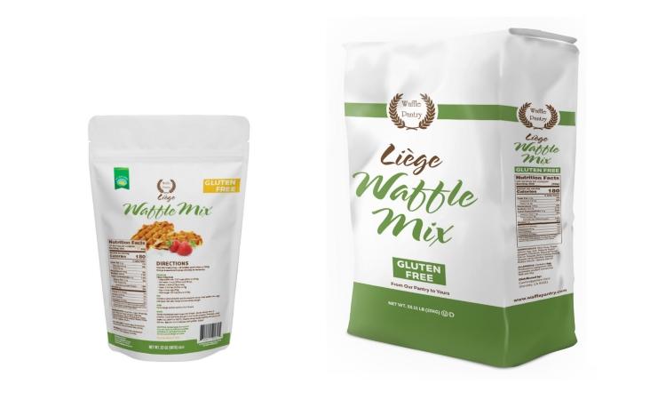 gluten free liege waffle mix