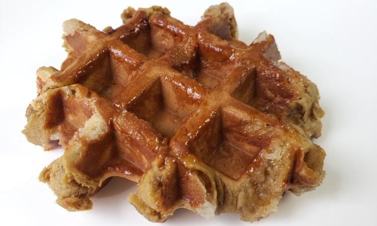 Belgian Coffee Liege waffle