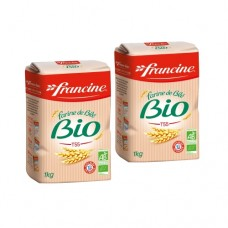 Francine Organic French Wheat Flour T55 (Pack of 2)