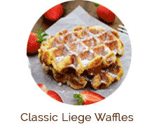 Traditional Liege Waffles