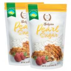 Belgian Pearl Sugar, 16 oz (2 Pack)